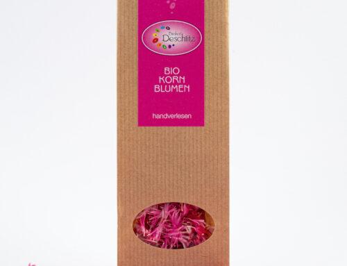 Kornblumenblütenblätter rosa
